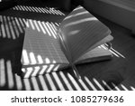 old lined note book with its... | Shutterstock . vector #1085279636