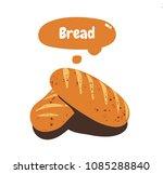 vector bread icon | Shutterstock . vector #1085288840