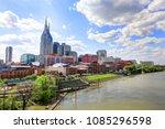 nashville  tennessee  usa  ...   Shutterstock . vector #1085296598