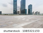 empty floor with modern... | Shutterstock . vector #1085321153