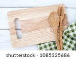 chopping cutting board and... | Shutterstock . vector #1085325686