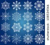 snowflake | Shutterstock .eps vector #108534566