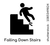 falling down stairs icon... | Shutterstock .eps vector #1085349824