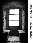Interior Of Ancient Prison....