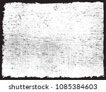distressed overlay texture... | Shutterstock .eps vector #1085384603