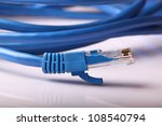 Lan Blue Cat 5 Wire Cable With...
