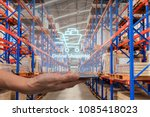 online shopping  ecommerce over ... | Shutterstock . vector #1085418023