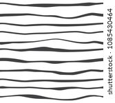 abstract black lines waves... | Shutterstock .eps vector #1085430464