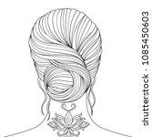 vector illustration  beautiful... | Shutterstock .eps vector #1085450603