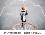 guy is standing closer to the... | Shutterstock . vector #1085454620