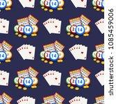 casino gambling win luck... | Shutterstock .eps vector #1085459006