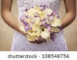 Yellow And Purple Bride\'s...