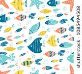 vector underwater world... | Shutterstock .eps vector #1085494508