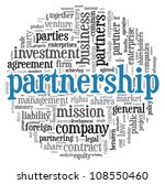 partnership and business...   Shutterstock . vector #108550460