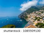 landscape of the town of... | Shutterstock . vector #1085509130