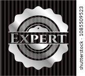 expert silvery badge | Shutterstock .eps vector #1085509523