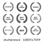 sport awards and best nominee... | Shutterstock .eps vector #1085517059