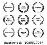 sport awards and best nominee...   Shutterstock .eps vector #1085517059