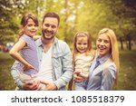 portrait of young smiling... | Shutterstock . vector #1085518379