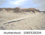 beach of st. peter ording at... | Shutterstock . vector #1085528204