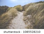 beach of st. peter ording at... | Shutterstock . vector #1085528210