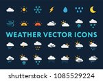 weather forecast meteorology... | Shutterstock .eps vector #1085529224