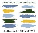 hipster label brush stroke... | Shutterstock .eps vector #1085533964