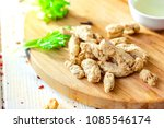 textured soybean meal   also... | Shutterstock . vector #1085546174