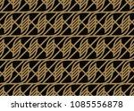 vector seamless pattern. modern ... | Shutterstock .eps vector #1085556878