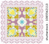 decorative colorful ornament on ... | Shutterstock .eps vector #1085562113