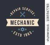 auto mechanic service. mechanic ... | Shutterstock .eps vector #1085567783
