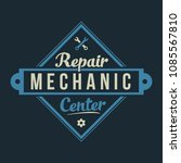 auto mechanic service. mechanic ... | Shutterstock .eps vector #1085567810