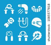 sports related set of 9 icons... | Shutterstock .eps vector #1085577818