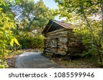 Log Cabin From The 1800\'s ...