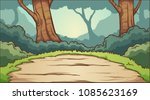 forest clearing background.... | Shutterstock .eps vector #1085623169