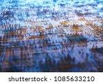 3d illustration. abstract 3d... | Shutterstock . vector #1085633210