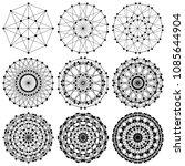 Dna Molecule Fractal Network...