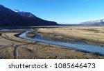 mount cook landscape over a... | Shutterstock . vector #1085646473