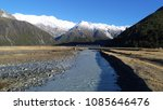 mount cook landscape over a... | Shutterstock . vector #1085646476