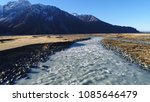 mount cook landscape over a... | Shutterstock . vector #1085646479