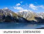 tasman glacier in south new... | Shutterstock . vector #1085646500