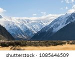 mount cook landscape showing... | Shutterstock . vector #1085646509