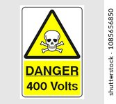 "plate  ""danger. 400 volts""...."