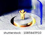 golden child symbol on the...