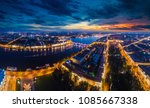 saint petersburg.  panorama of... | Shutterstock . vector #1085667338