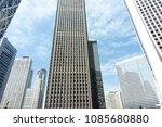 skyscrapers at nishi shinjyuku  ...   Shutterstock . vector #1085680880