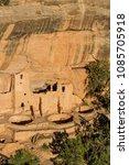 mesa verde national park cliff... | Shutterstock . vector #1085705918