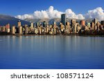 Stock photo beautiful city of vancouver canada 108571124