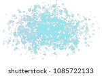 light blue vector template with ... | Shutterstock .eps vector #1085722133