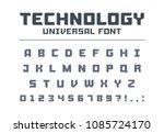 technology universal poster... | Shutterstock .eps vector #1085724170